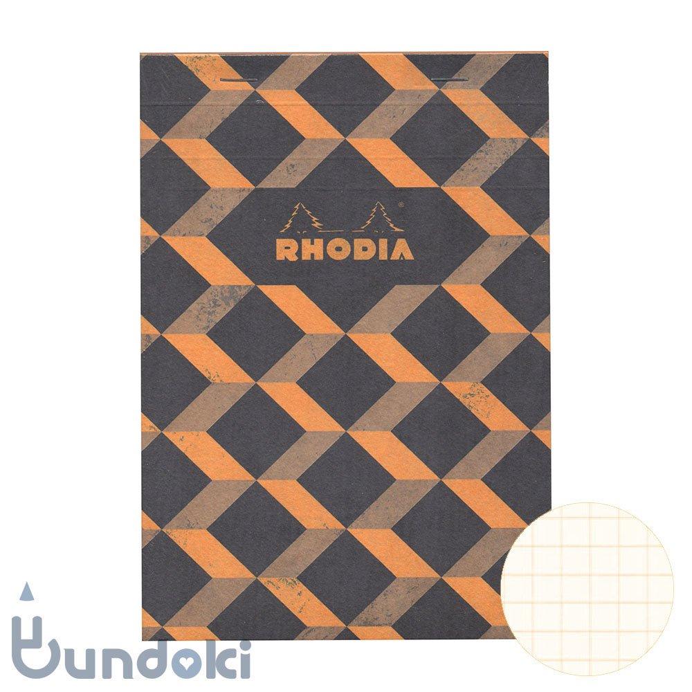 【RHODIA/ロディア】COLLECTION HERITAGE/ブロックロディア No.16 (エッシャー/ブラック)