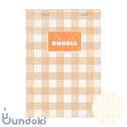 【RHODIA/ロディア】COLLECTION HERITAGE/ブロックロディア No.16 (タータン/アイボリー)