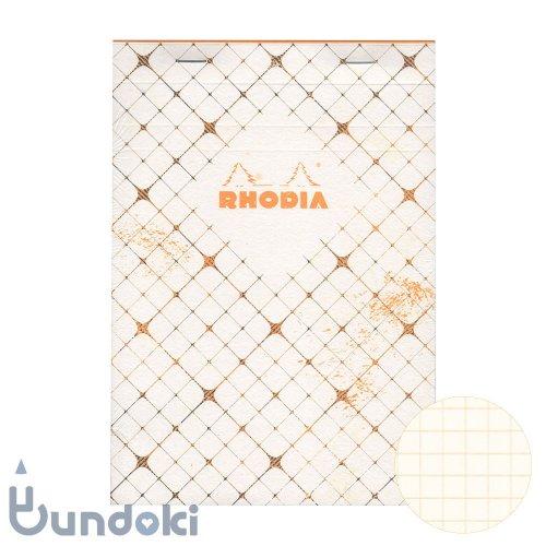 【RHODIA/ロディア】COLLECTION HERITAGE/ブロックロディア No.16 (カドリーユ/アイボリー)