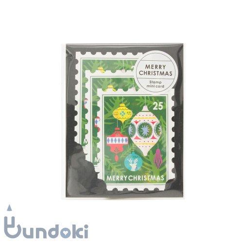 【Mark's/マークス】スタンプ3枚セット・ミニ/クリスマスカード(オーナメント)