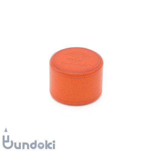 【カンダミサコ】ペーパーウェイト・丸 (オレンジ)
