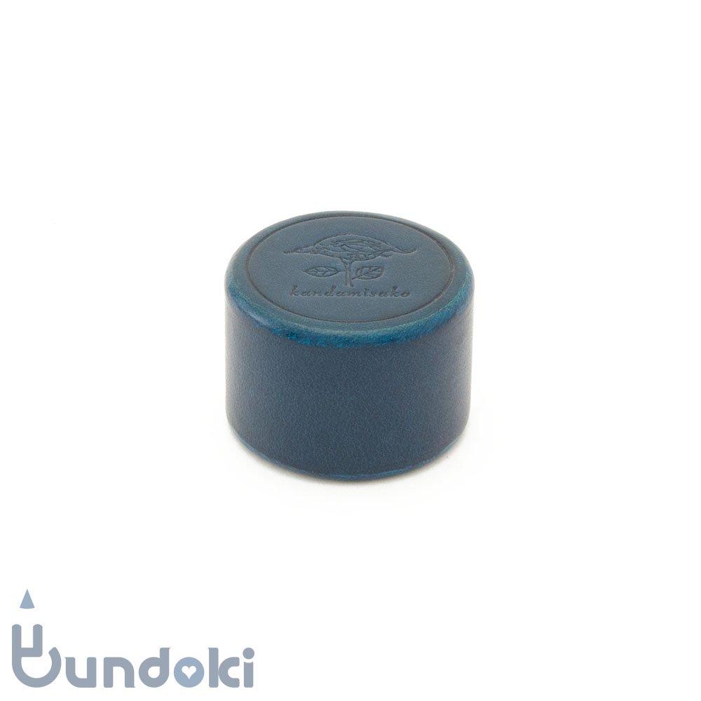 【カンダミサコ】ペーパーウェイト・丸 (ブルー)