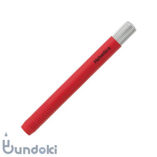 【ITO-YA/伊東屋】鉛筆補助軸・ラバー塗装(レッド)