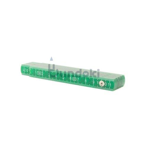 【Standardgraph/スタンダードグラフ】フォールディングルーラー・1m (グリーン)