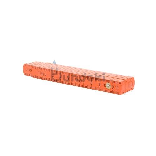 【Standardgraph/スタンダードグラフ】フォールディングルーラー・1m (オレンジ)