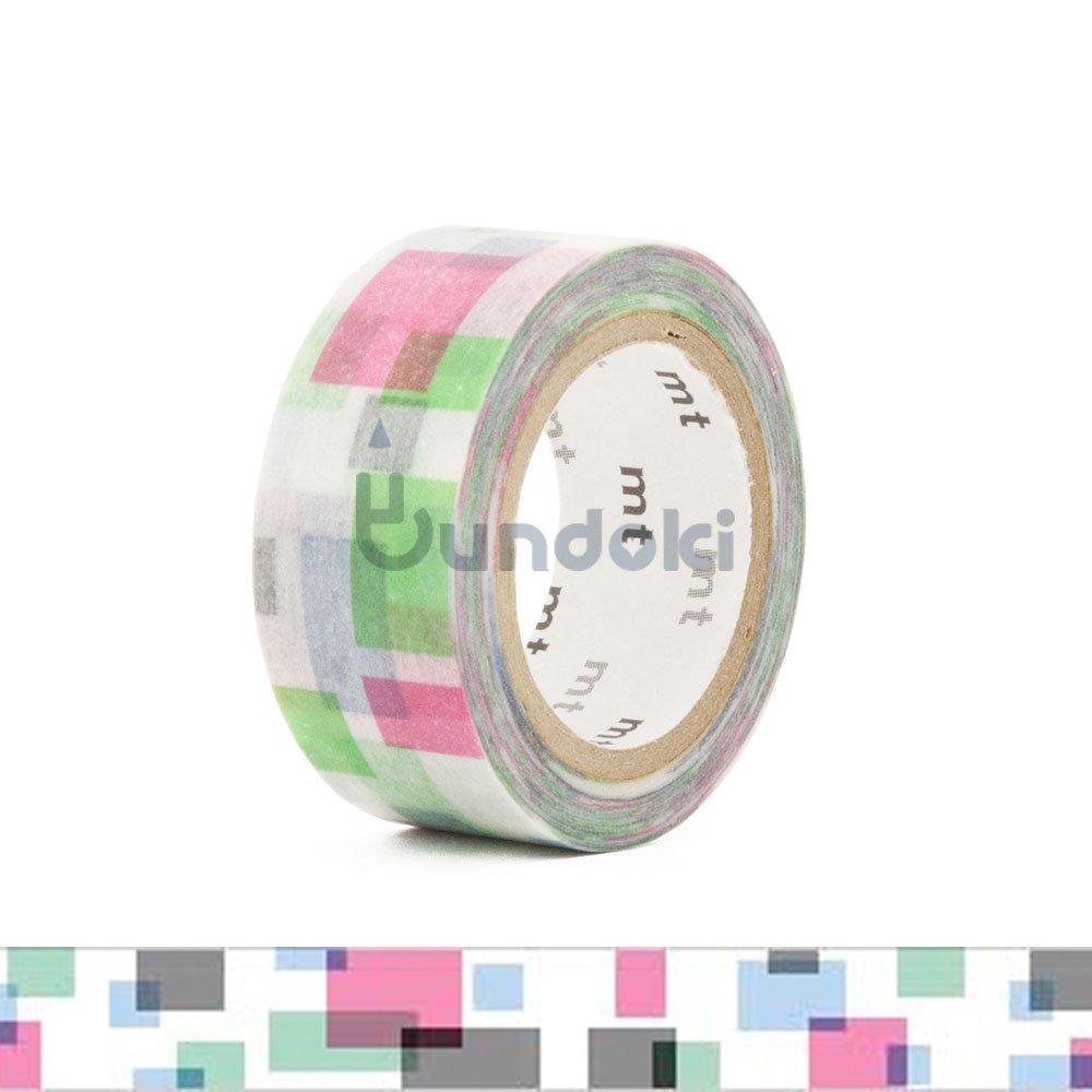 【カモ井加工紙/KAMOI】mt fab 両面印刷テープ・ブロック