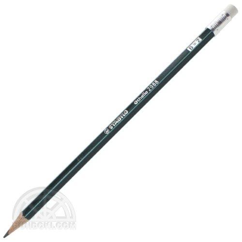 【STABILO/スタビロ】Othello/オテロ消しゴム付き鉛筆(硬度:B)