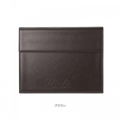 【RHODIA/ロディア】数量限定・ロディア ジョッター付カバー No.16 (ブラウン)