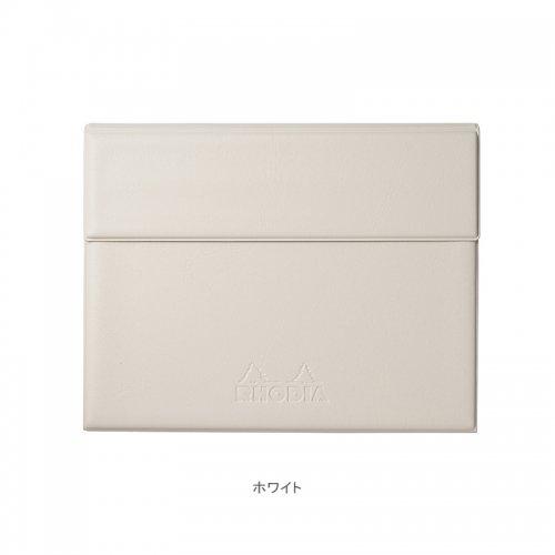 【RHODIA/ロディア】数量限定・ロディア ジョッター付カバー No.16 (ホワイト)