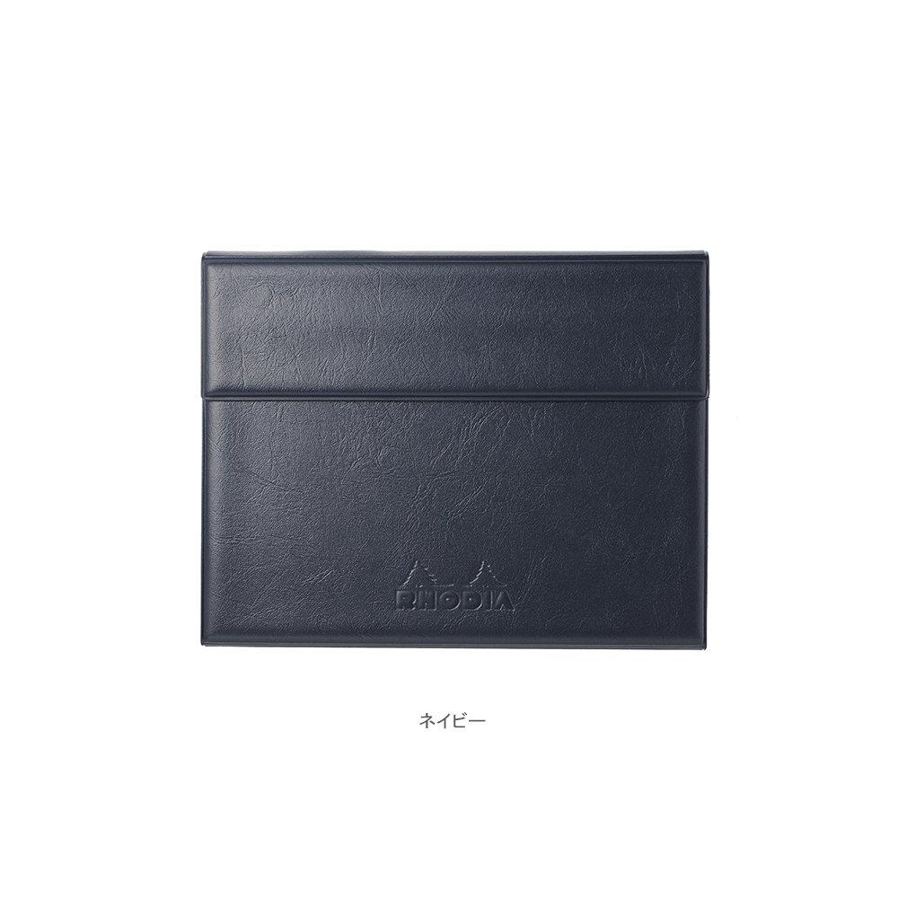 【RHODIA/ロディア】数量限定・ロディア ジョッター付カバー No.13 (ネイビー)