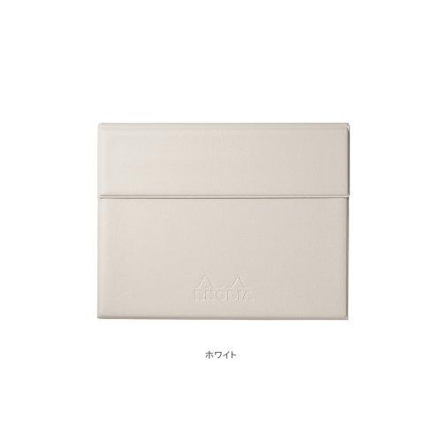 【RHODIA/ロディア】数量限定・ロディア ジョッター付カバー No.13 (ホワイト)