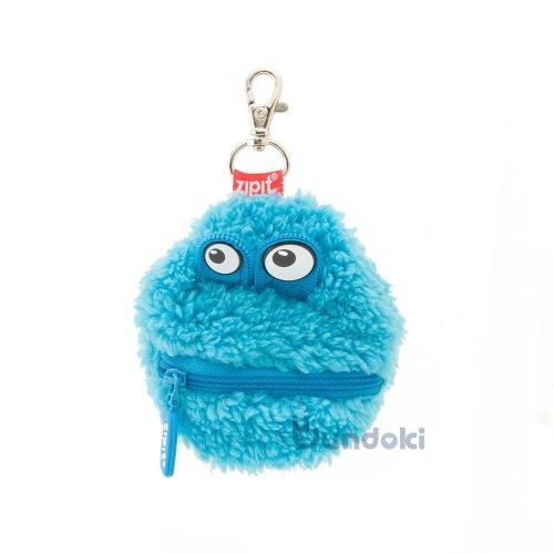 【Zip It/ジップイット】プラッシュミニポーチ (ブルー)