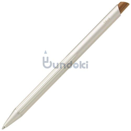 【TreAsia Design/TA+d】FIBER / Bamboo Ballpont  Pen (シルバー)