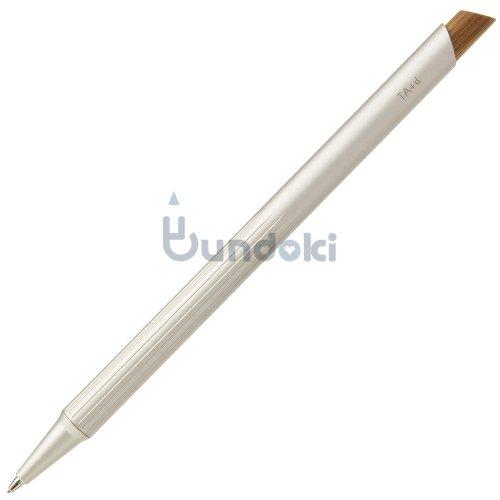 【TreAsia Design/TA+d】FIBER / Bamboo Mechanical Pencil (シルバー)