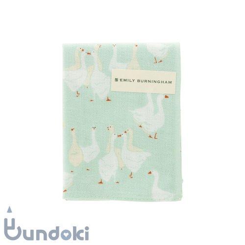 【濱文様】てぬぐいのはんかち/ エミリー・バーニンガム (アフタヌーングース)