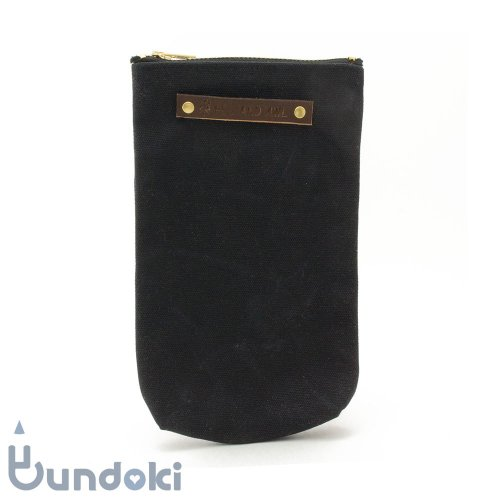 【Peg and Awl】The Scribbler Pouch (Coal)