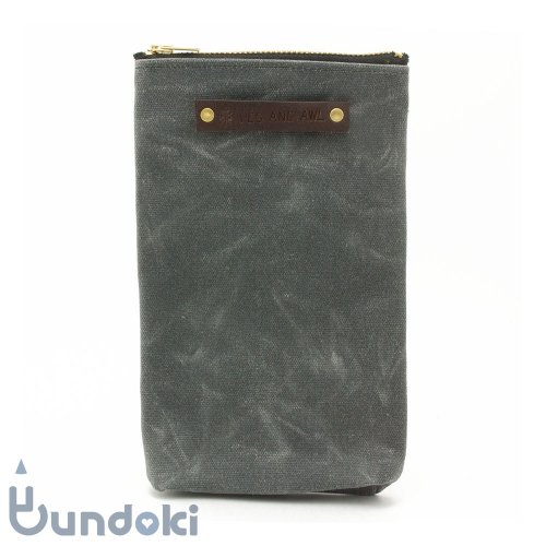 【Peg and Awl】The Scribbler Pouch (Slate)