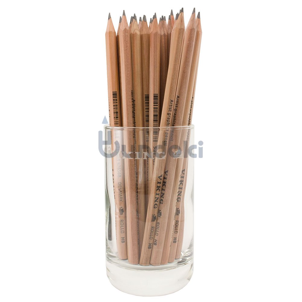 【VIKING/バイキング】SEKSORGTREDIVE / Rollo アーティストグラファイト鉛筆36本限定グラスセット