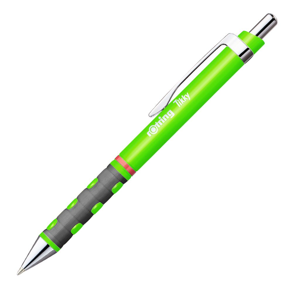 【ROTRING/ロットリング】TIKKY ボールペン限定色 (ネオングリーン)