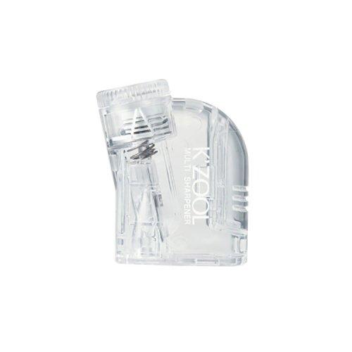 【kutsuwa/クツワ】透明鉛筆削りケズール