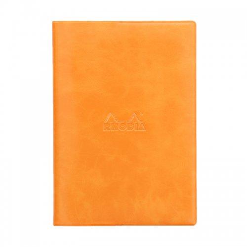 【RHODIA/ロディア】2019年マンスリーダイアリー with Cover ベーシック 15.3x21.8cm (オレンジ)