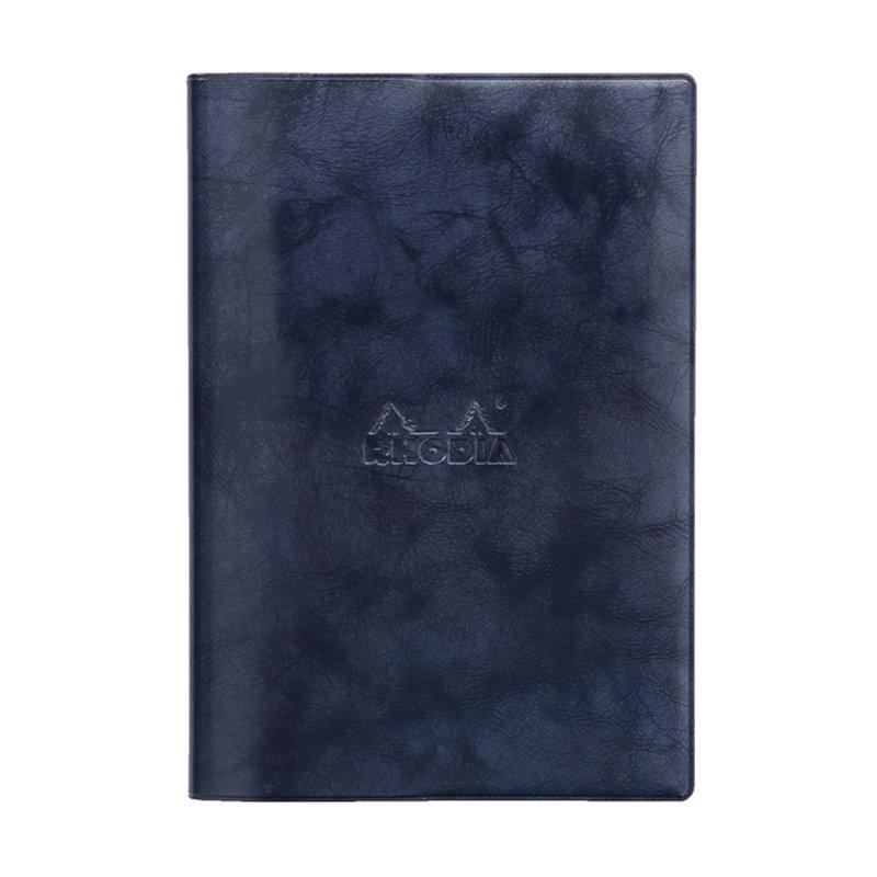 【RHODIA/ロディア】2019年マンスリーダイアリー with Cover ベーシック 15.3x21.8cm (ネイビー)