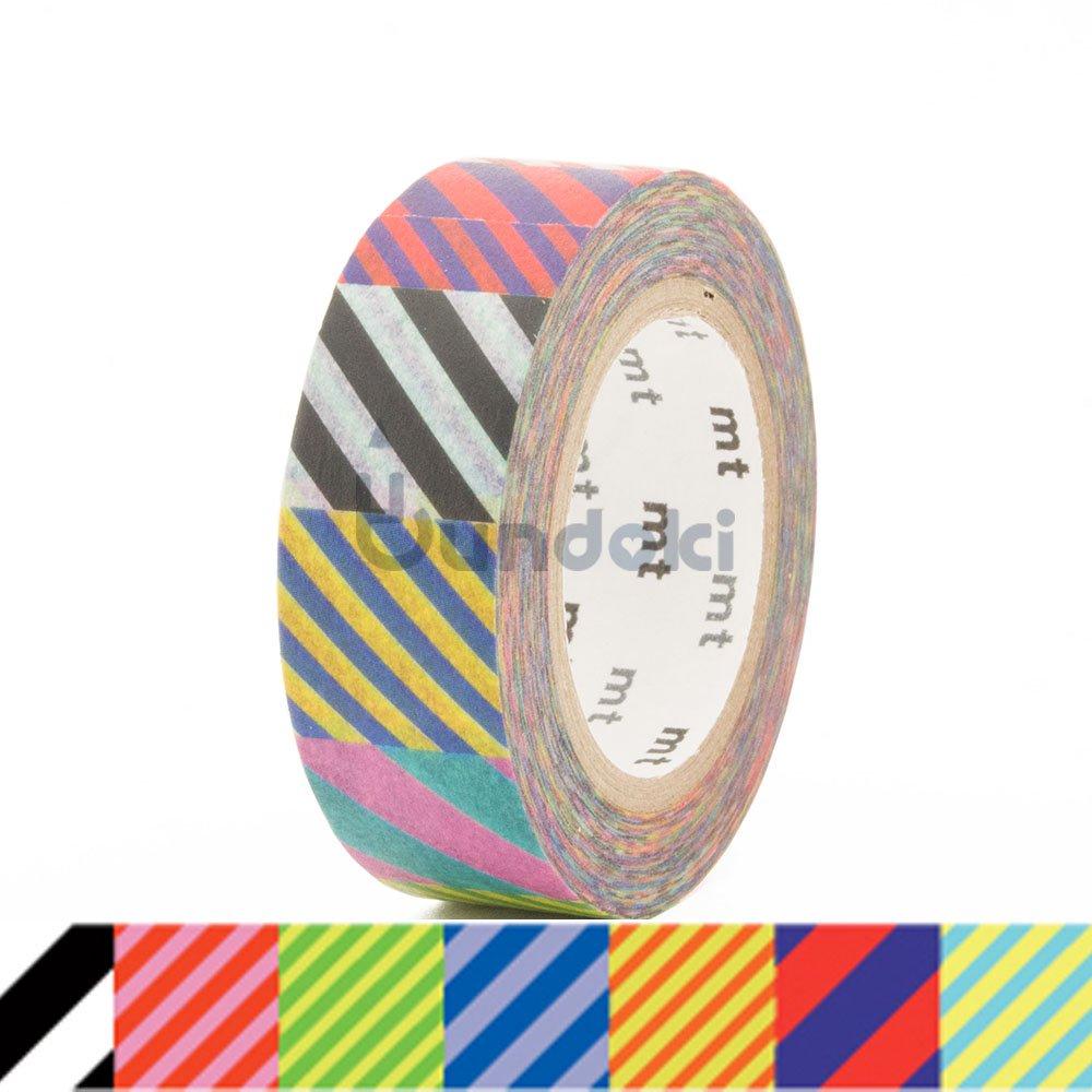 【カモ井加工紙/KAMOI】mtマスキングテープ Kapitza / Multistripe