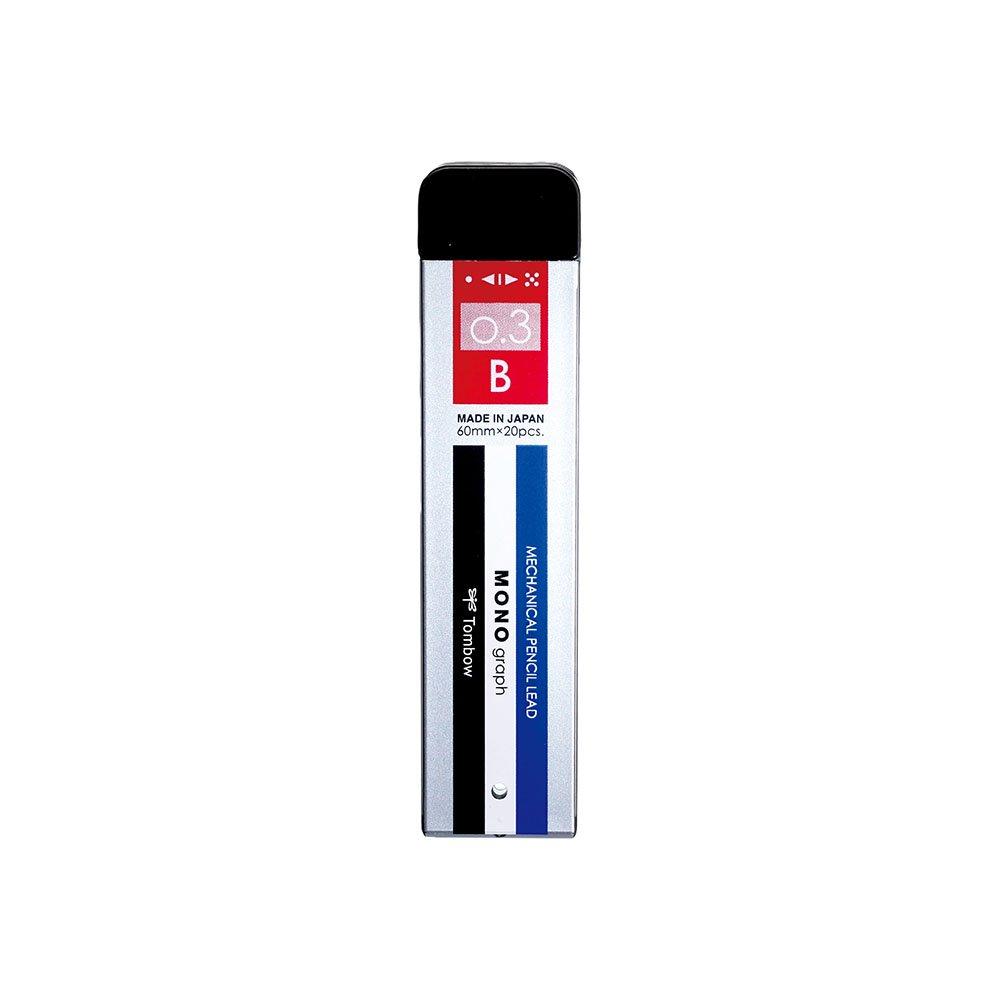 【TOMBOW/トンボ鉛筆】シャープ芯 モノグラフMG・モノカラー (0.3mm/B)