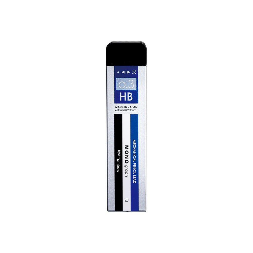 【TOMBOW/トンボ鉛筆】シャープ芯 モノグラフMG・モノカラー (0.3mm/HB)
