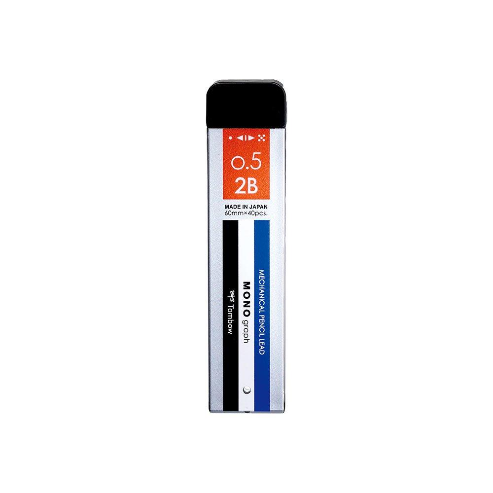 【TOMBOW/トンボ鉛筆】シャープ芯 モノグラフMG・モノカラー (0.5mm/2B)