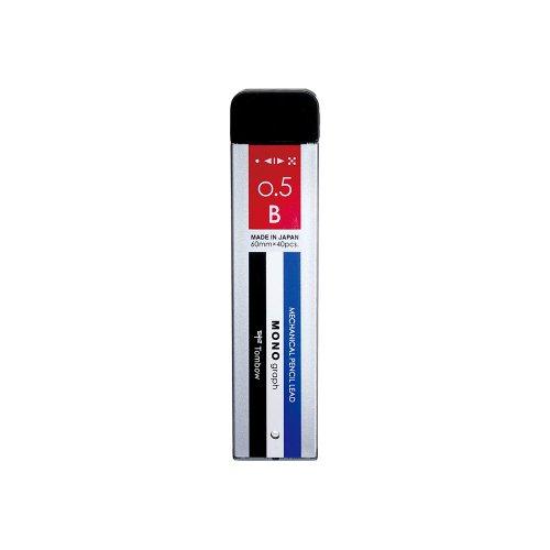 【TOMBOW/トンボ鉛筆】シャープ芯 モノグラフMG・モノカラー (0.5mm/B)