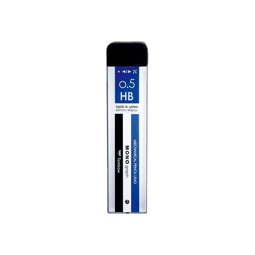 【TOMBOW/トンボ鉛筆】シャープ芯 モノグラフMG・モノカラー (0.5mm/HB)