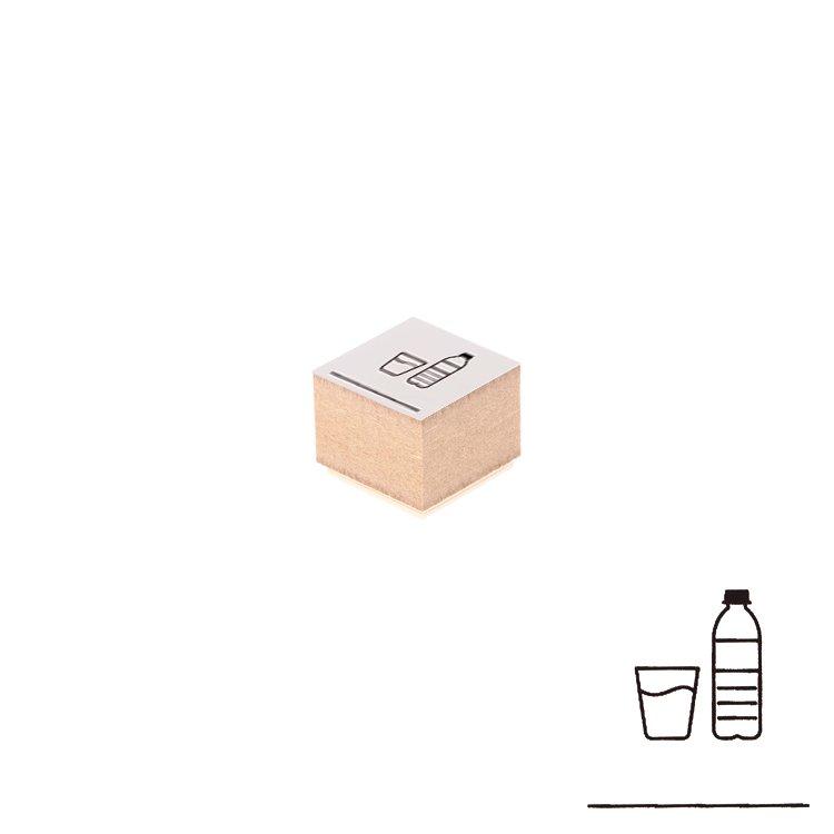 【Delfonics/デルフォニックス】ウッドスタンプ アイコン (G/水)