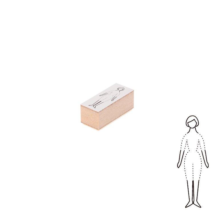 【Delfonics/デルフォニックス】ウッドスタンプ コーディネート (A/レディース)