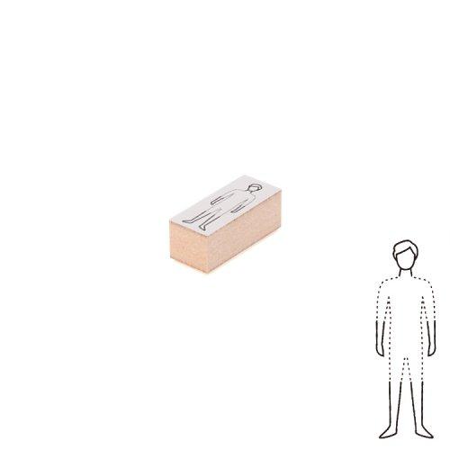 【Delfonics/デルフォニックス】ウッドスタンプ コーディネート (B/メンズ)