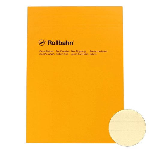 【Delfonics/デルフォニックス】ロルバーン ノートパッド・A4 (罫線)