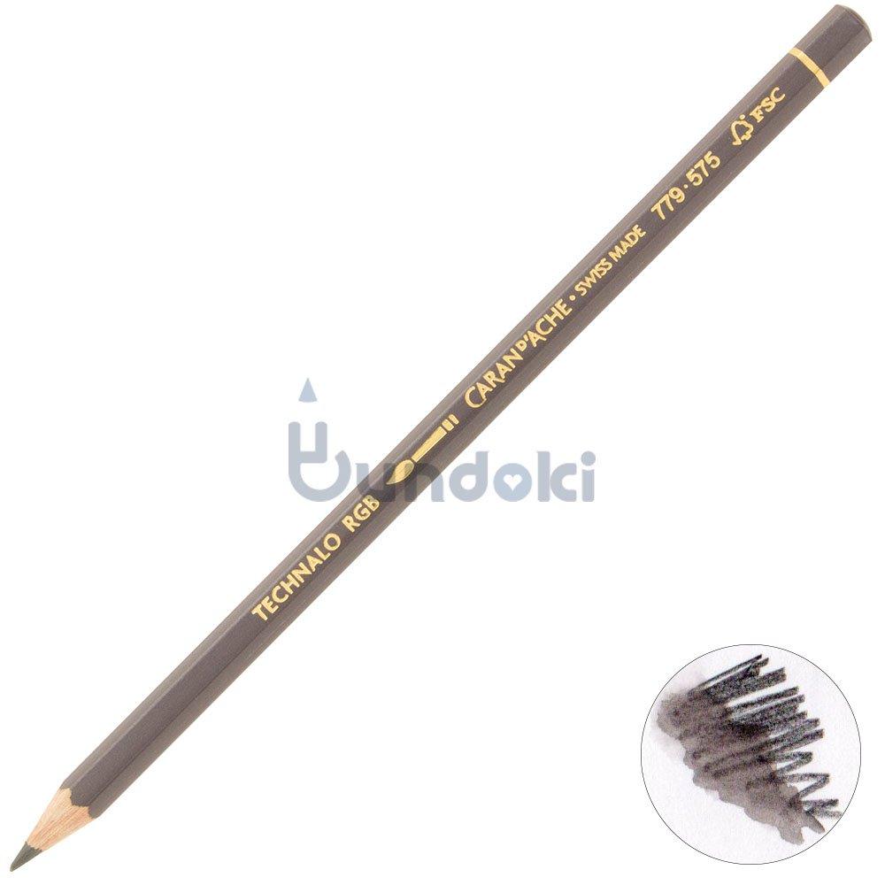 【CARAN D'ACHE/カランダッシュ】テクナロ水溶性色鉛筆RGB・3B (レッド)