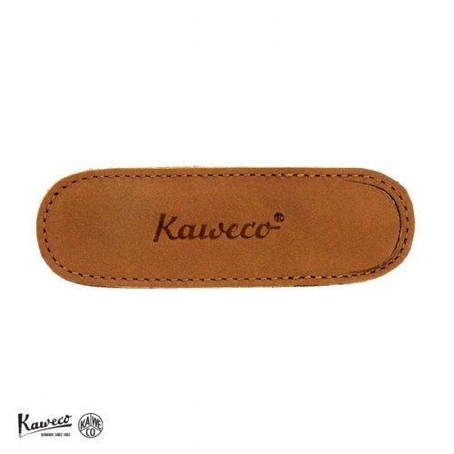 【KAWECO/カヴェコ】リリプット専用ケース・エコ ソフトレザーケース 2本用 (ブランディ)