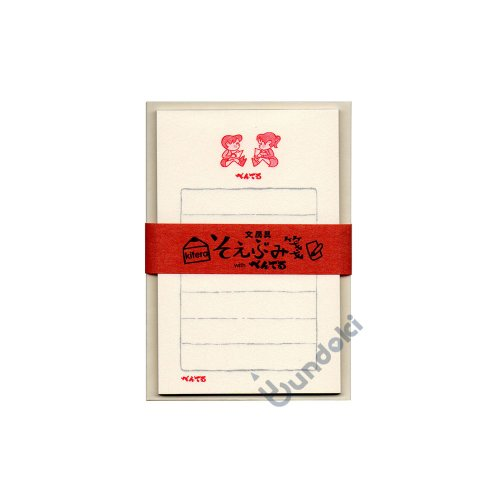 【古川紙工】文具メーカーそえぶみ箋・ぺぺ&ルル