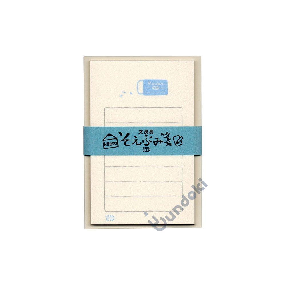 【古川紙工】文具メーカーそえぶみ箋・レーダー