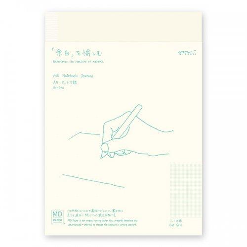 【MIDORI/ミドリ】MDノート ジャーナル・A5 (ドット方眼)