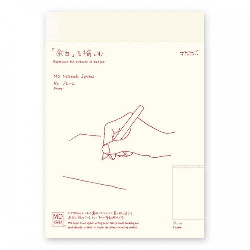 【MIDORI/ミドリ】MDノート ジャーナル・A5 (フレーム)