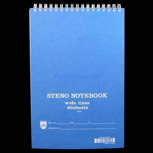 【maruman/マルマン】steno notebook/ステノノートブック(N750)