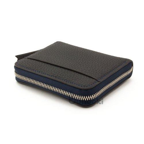 【カンダミサコ】Pocket Wallet (ネイビー)