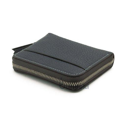 【カンダミサコ】Pocket Wallet (グレーブルー)