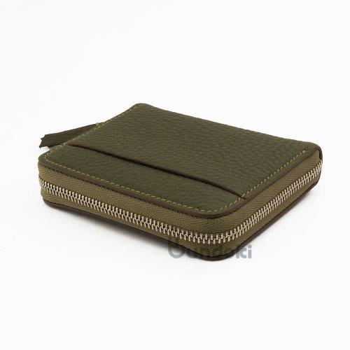 【カンダミサコ】Pocket Wallet (オリーブ)