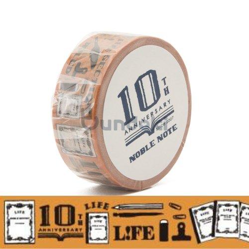【LIFE/ライフ】ノーブル10th限定 マスキングテープ (たばこ)