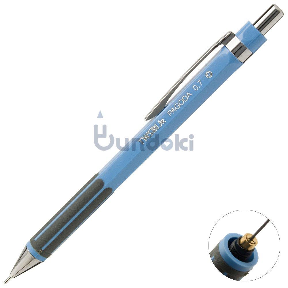 【TWSBI/ツイスビー】TWSBI JR. PAGODAシャープペンシル (0.7mm/ブルー)