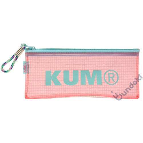 【KUM/クム】クリアペンケース (パステルピンク)