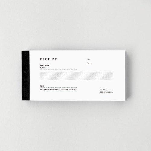 【KNOOPWORKS/クノープワークス】RECEIPT(英・複写) ヨコ